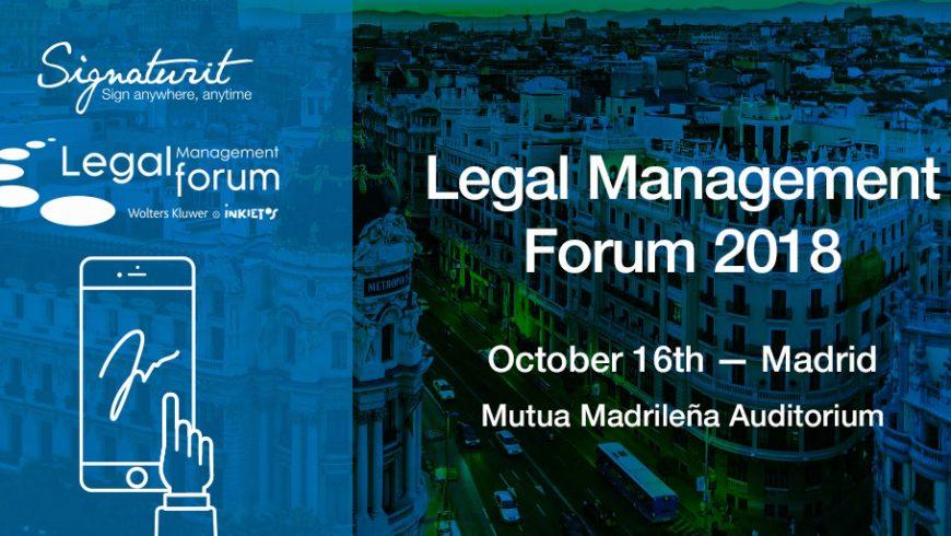 El V Legal Forum Management centra su atención en cómo la tecnología influye en el entorno de los abogados.