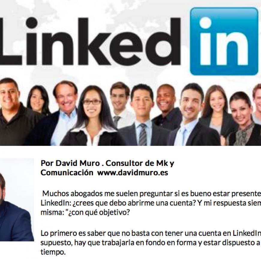 La importancia de LinkedIn para abogados y despachos