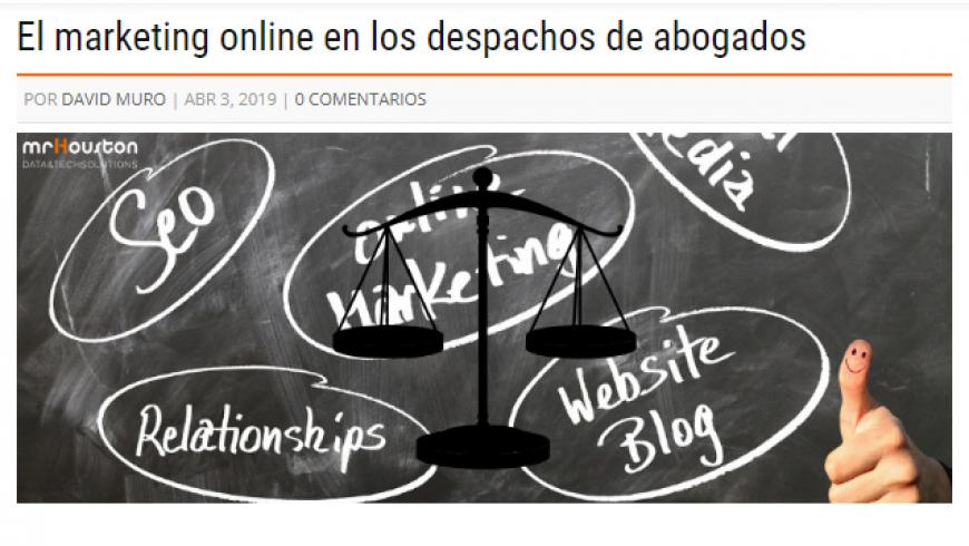 El marketing online en los despachos de abogados