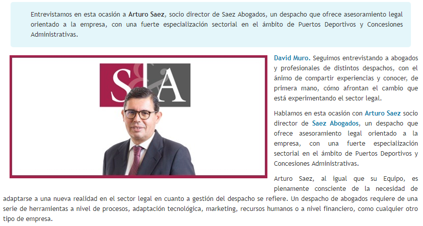 David Muro entrevista a Arturo Sáez