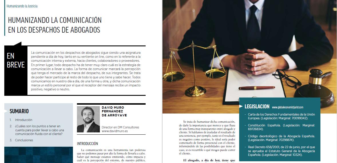 Humanizando la comunicación en los despachos de abogados