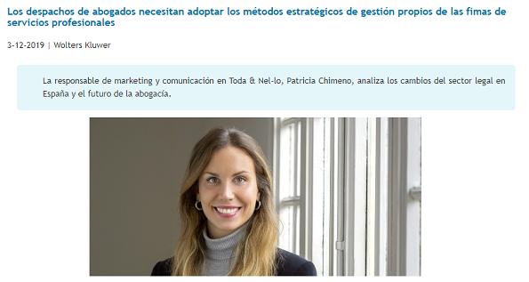 Entrevista a Patricia Chimeno